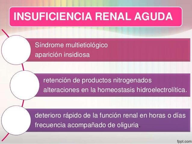 insuficiencia renal aguda Slide 2