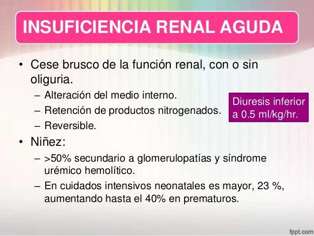 insuficiencia renal aguda Slide 3