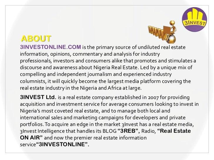 3INVESTONLINE.COM Slide 3
