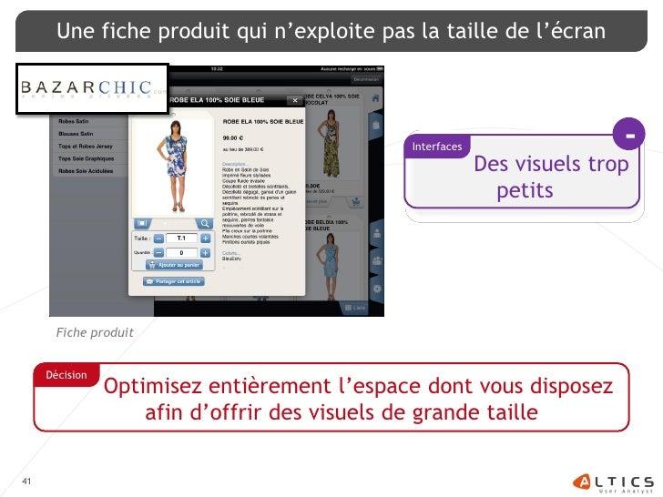Une fiche produit qui n'exploite pas la taille de l'écran                                                  Interfaces     ...