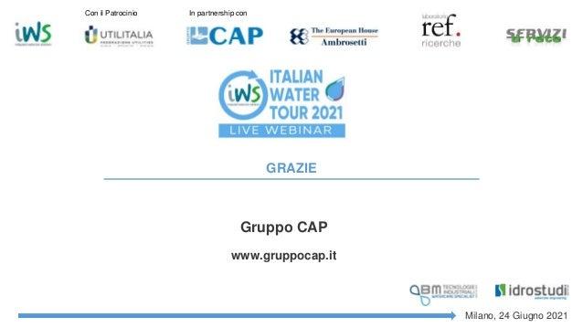 Reti fognarie: i progetti innovativi di Gruppo CAP