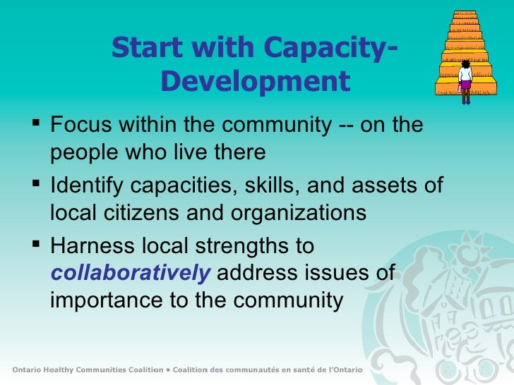capacity building in community engagement and Constructing a parent engagement  school and community engagement as an integral  building capacity for involvement are met as.