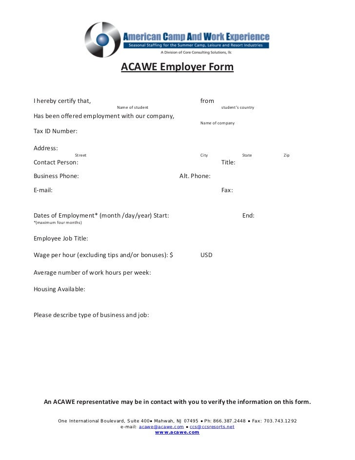 3 job offer form