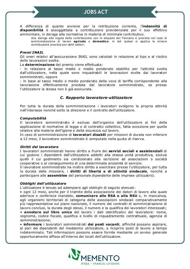Jobs act il contratto di somministrazione for Contratto di locazione 4 4 modello