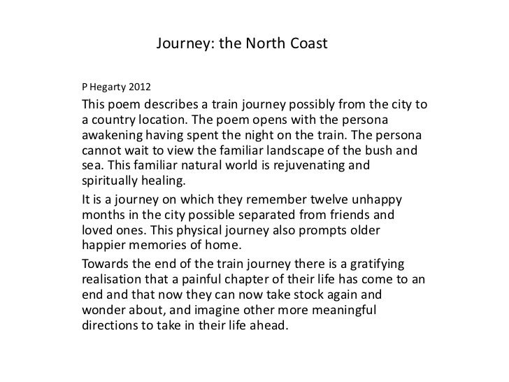 journey to school essay Essay on family and journey carmichael a journey is a series of events that happen from beginning to end a journey helps you gain and learn new perspectives and experiences of life.