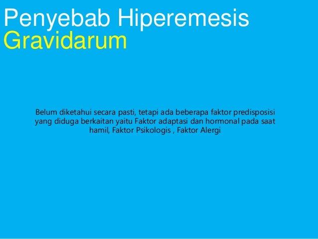 Treatment of Hyperemesis Gravidarum