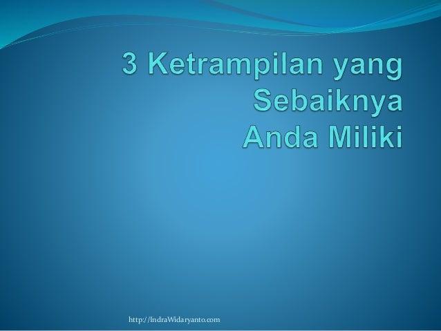 http://IndraWidaryanto.com