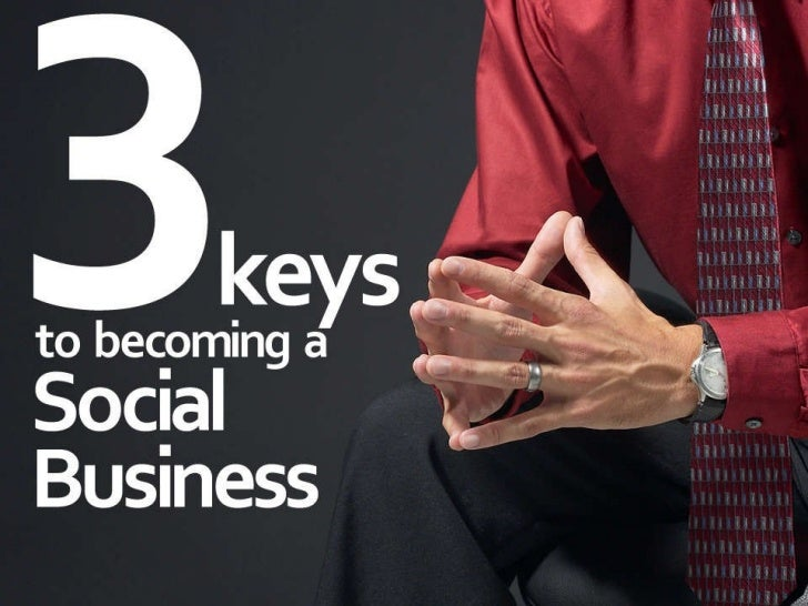 3 key considerations for social business Slide 1