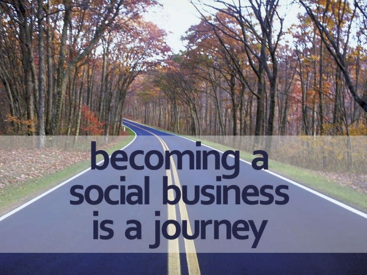 3 key considerations for social business Slide 3