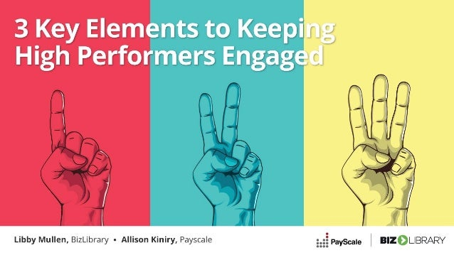 Keeping higher performers engaged in this market is difficult PayScale Compensation Best Practices Report, 2019 66% of sur...