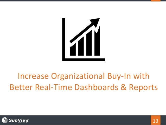 13 Increase Organizational Buy-In with Better Real-Time Dashboards & Reports