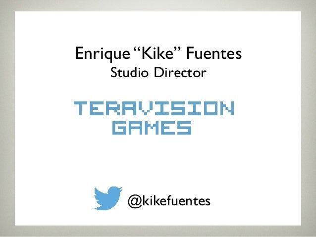 """Enrique """"Kike"""" Fuentes!  Studio Director!  @kikefuentes!"""