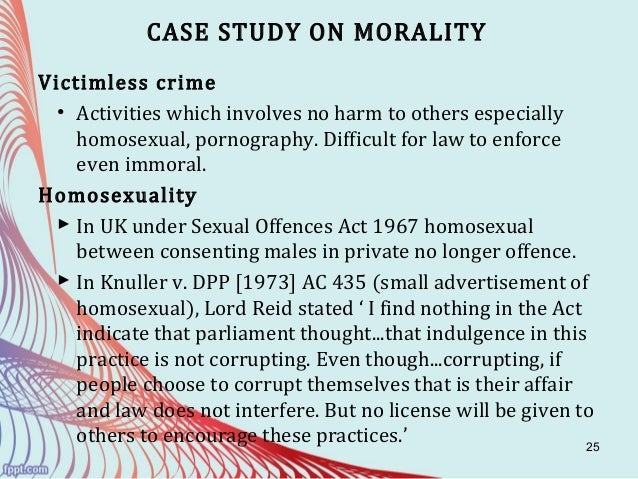 relationship of law and morality