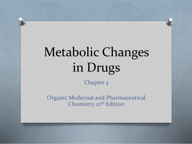 organic medicinal and pharmaceutical chemistry 12th edition pdf
