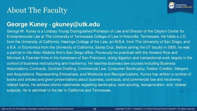 About The Faculty Bernie Burk - bernie.burk@bernieburk.com Professor Bernard Burk previously taught at the University of N...