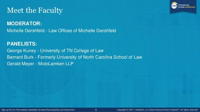 About This Webinar Hot Off the Presses - Recent Cases & Decisions This webinar is for the lawyer -or anyone else- who want...