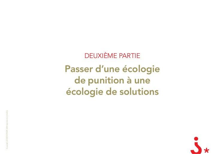 DEUXIÈME PaRTIE                                                         Passer d'une écologie                             ...