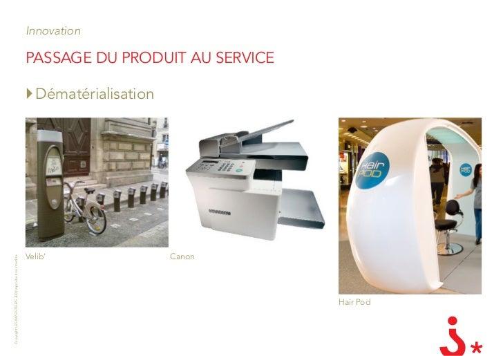 Innovation                                                         PassagE du Produit au sErviCE                          ...