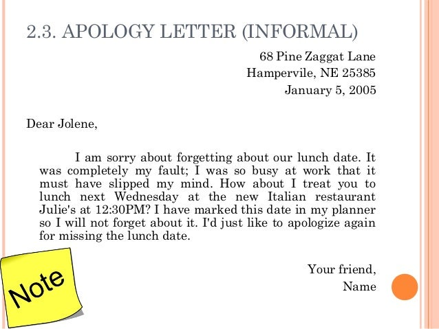 Work Apology Letter Example Corporate Apology Letter An Apology