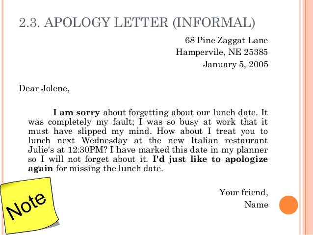 Letter writing your friend name 11 23 apology letter altavistaventures Images