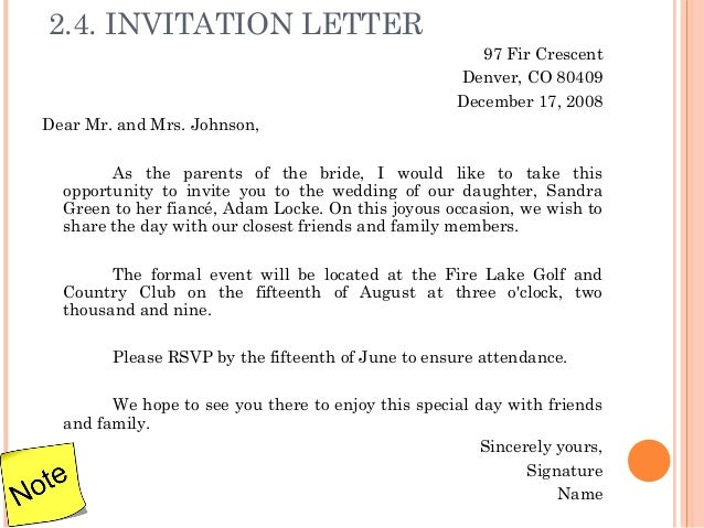 Letter writing 13 24 invitation letter stopboris