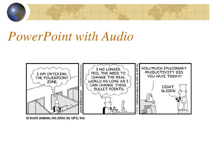 PowerPoint with Audio