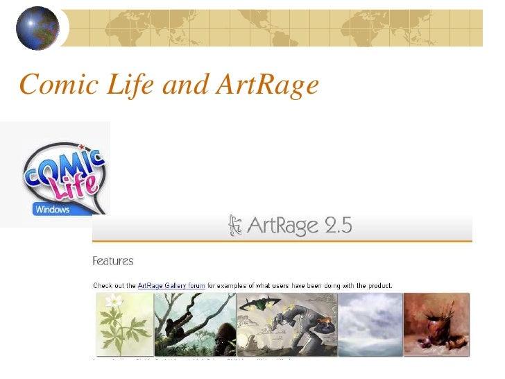 Comic Life and ArtRage