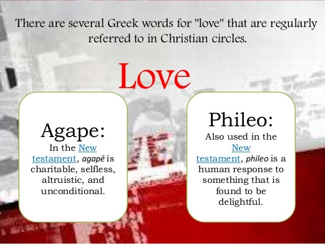 Image result for agape phileo love