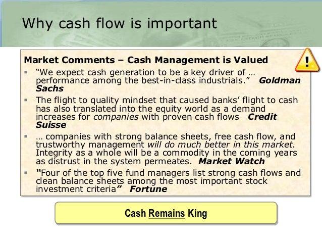 cash expenses 375 depreciationoperating income 425 6 - Cash Management Skills