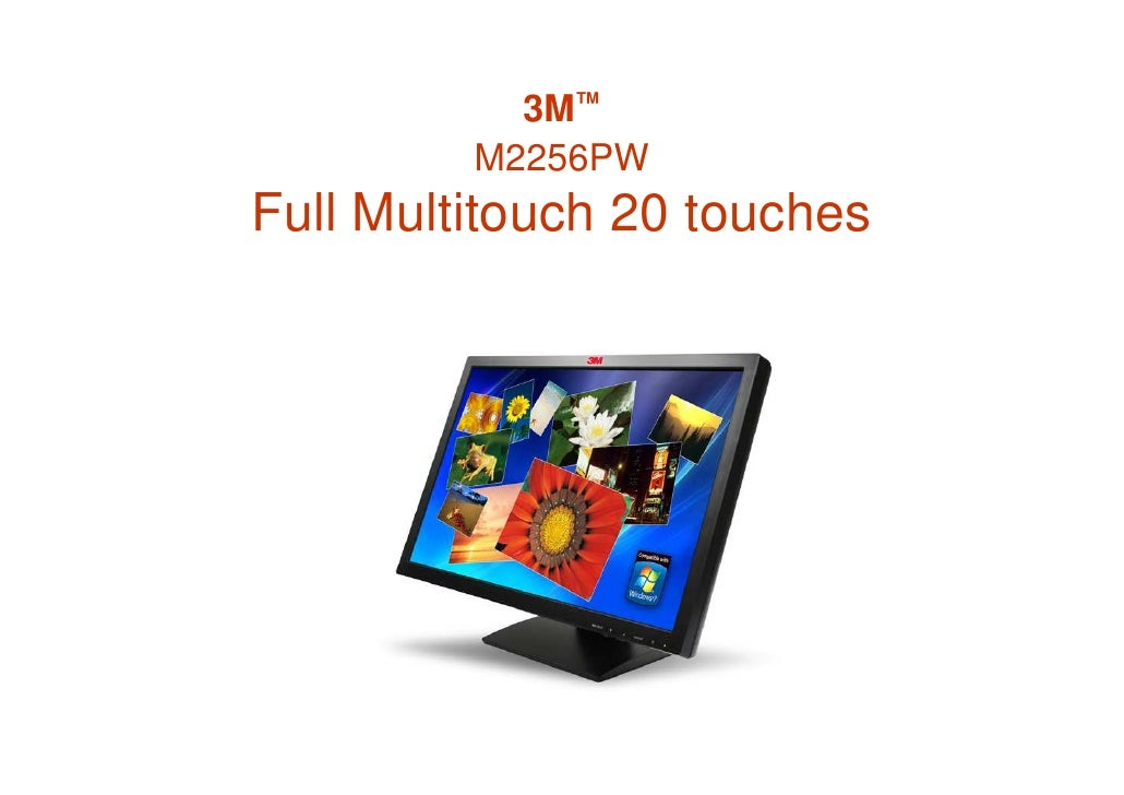 3M™          M2256PW Full Multitouch 20 touches