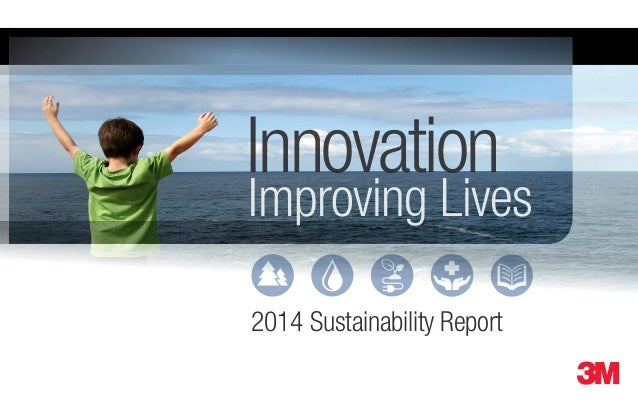 sustainability at 3m Progress and commitments outlined in 2015 sustainability report 3m announced today its 2015 sustainability report, which outlines the company's sustainability progress and new goals for the next 10 years.