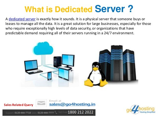 Dedicated server vs non dedicated d a