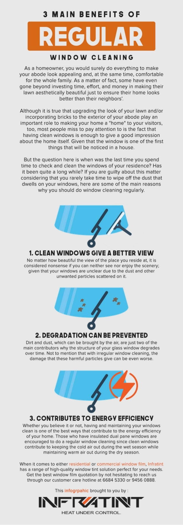 3 main benefits of regular window cleaning