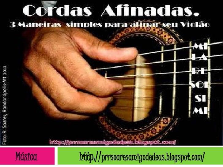 Música   http://prrsoaresamigodedeus.blogspot.com/