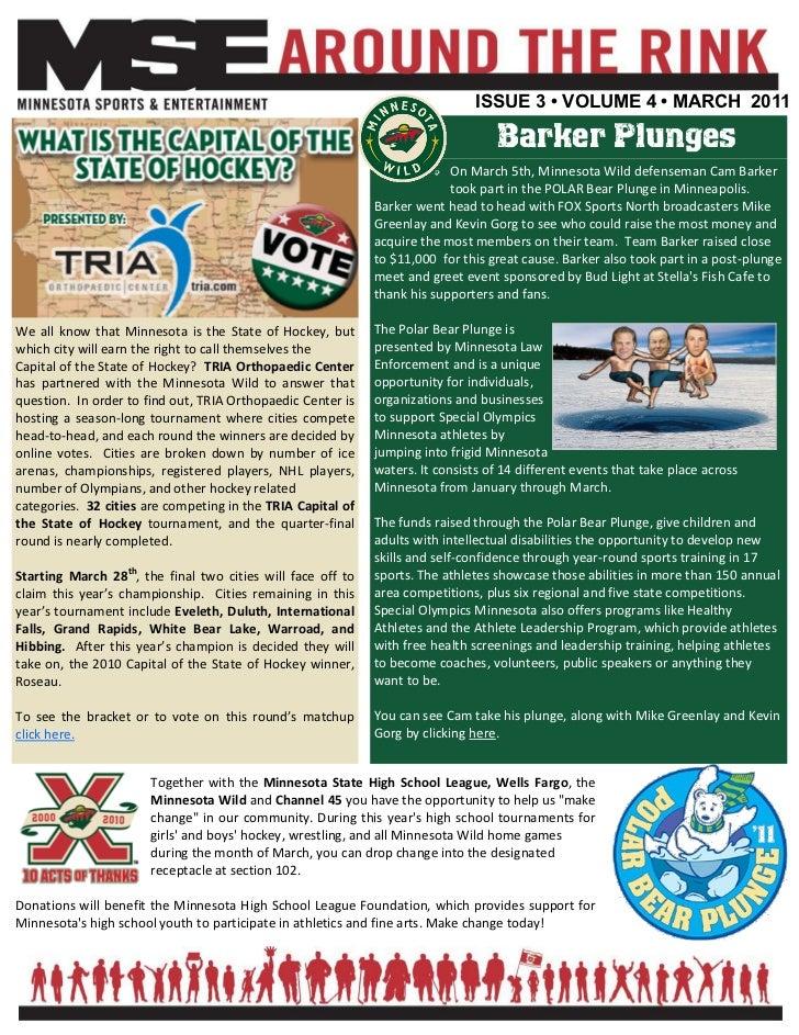ISSUE 3 • VOLUME 4 • MARCH 2011                                                                                   Barker P...