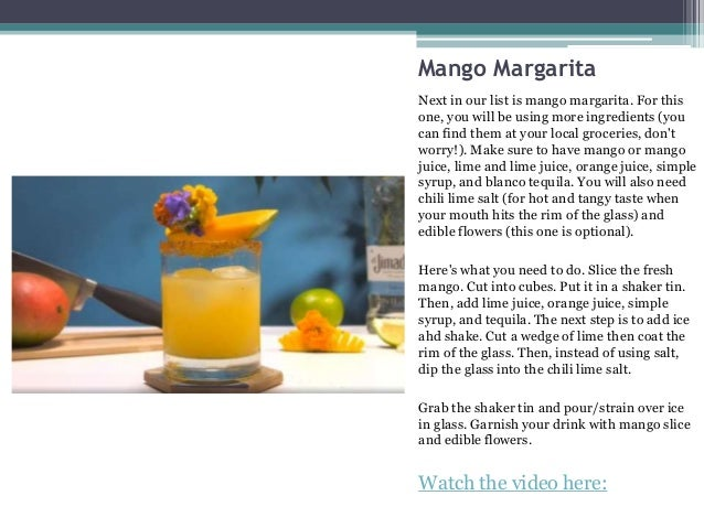 3 Margarita Recipes You Can Make At Home