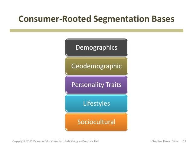 consumer segmentation bases