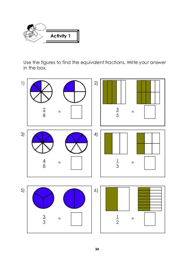 how to write equivalent fractions Naturally, one approach we could use to determine if two fractions are equivalent  is to convert each fraction to a decimal for example, since 3 5 = 06 and 15.