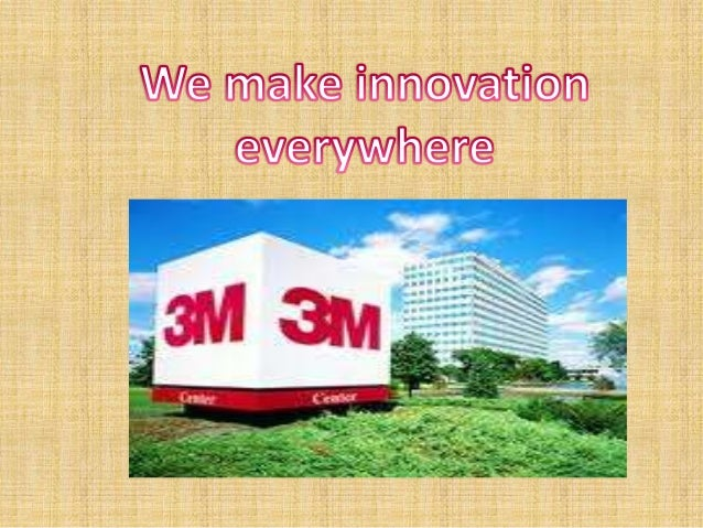 case research about 3m innovation