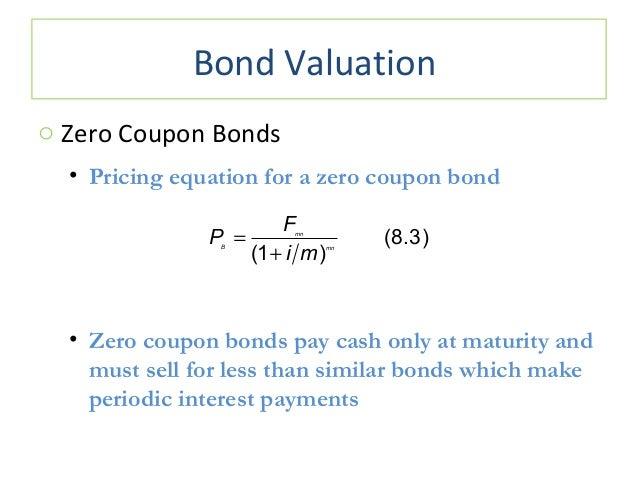 Price of a zero coupon bond calculator