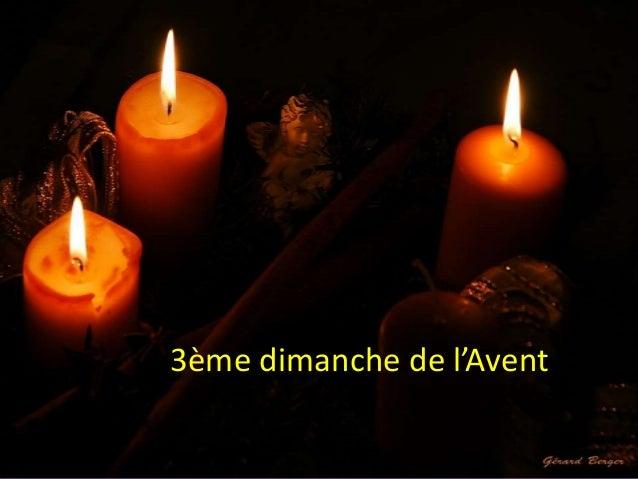 www.paroisseassesse.be 3ème dimanche de l'Avent