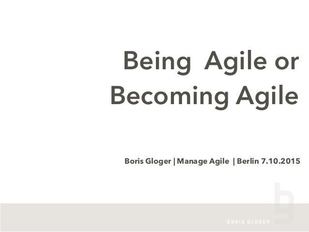 It´s a long way to becoming agile - if you aim for the wrong Slide 3