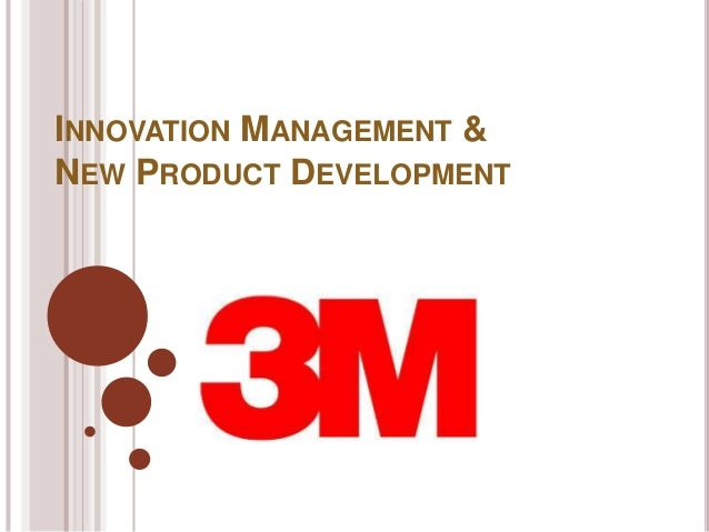 Innovation at 3M Corporation (A)