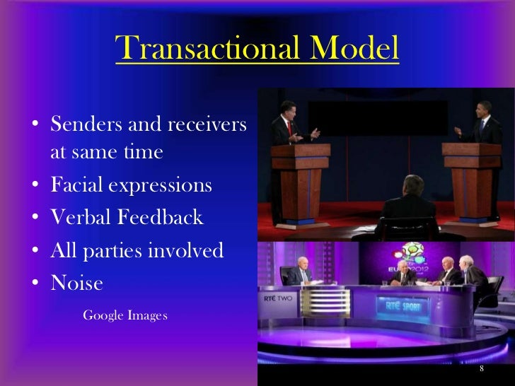 interactional and transactional communication