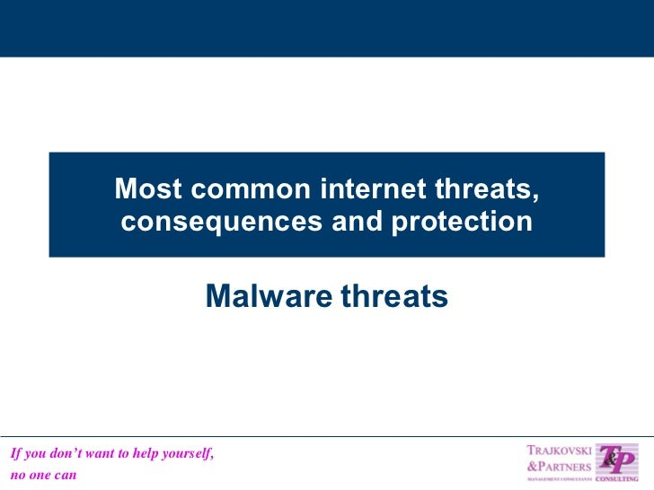 3 Most Common Threats Of Information Security