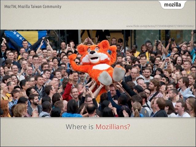 Mozilla community - get involved