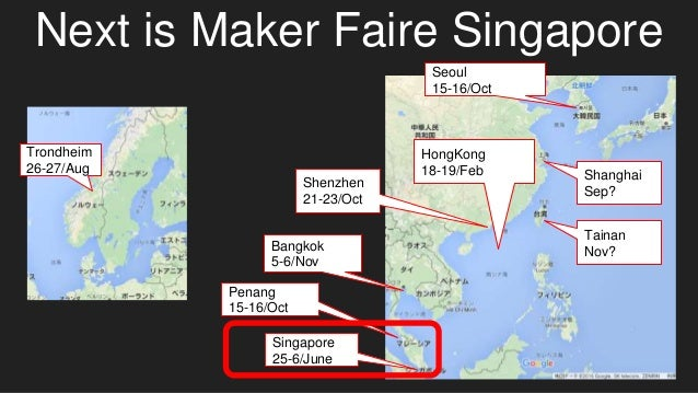 Singapore 25-6/June Penang 15-16/Oct Bangkok 5-6/Nov Shenzhen 21-23/Oct HongKong 18-19/Feb Trondheim 26-27/Aug Seoul 15-16...