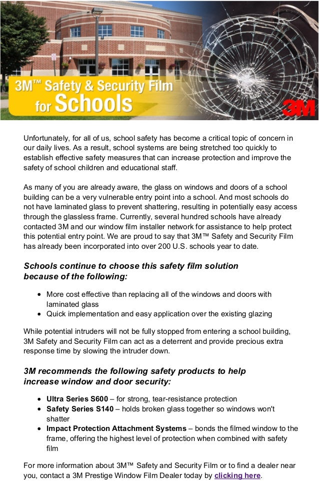 4/24/13 11:23 AM3M Safety & Security Film for Schools Page 1 of 2http://previewcampaign.infousa.com/campaign/0413/3M_schoo...