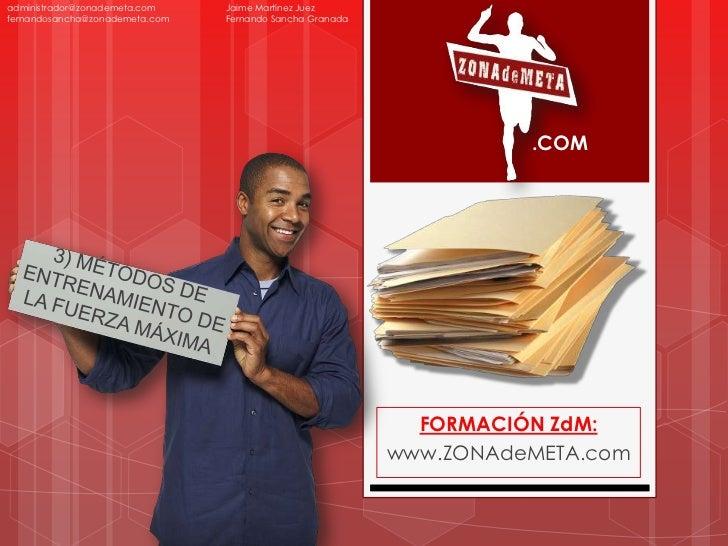 administrador@zonademeta.com    Jaime Martínez Juezfernandosancha@zonademeta.com   Fernando Sancha Granada                ...