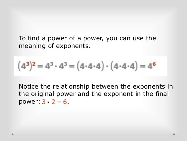 Multiplication Properties of Exponents – Multiplication Property of Exponents Worksheet
